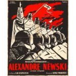 "Affiche du film ""Alexandre Nevski"" de Sergueï Eisenstein"
