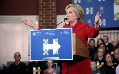 La laborieuse investiture d'Hillary Clinton