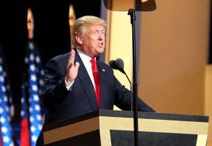 Donald Trump à la convention républicaine de 2016