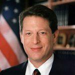 Portrait officiel d'Al Gore en tant que Vice-Président