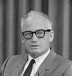 Portrait de Barry Goldwater en 1962