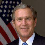 Portrait officiel de George W. Bush en 2003