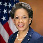 Portrait de Loretta Lynch en tant qu'Attorney general des Etats-Unis en 2015