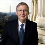 Mitch McConnell en tant que sénateur en 2009