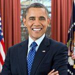 Portrait officiel de Barack Obama en tant que Président