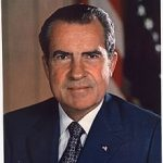 Portrait officiel de Richard Nixon en tant que Président