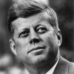 Photo officiel de JFK président - 1961