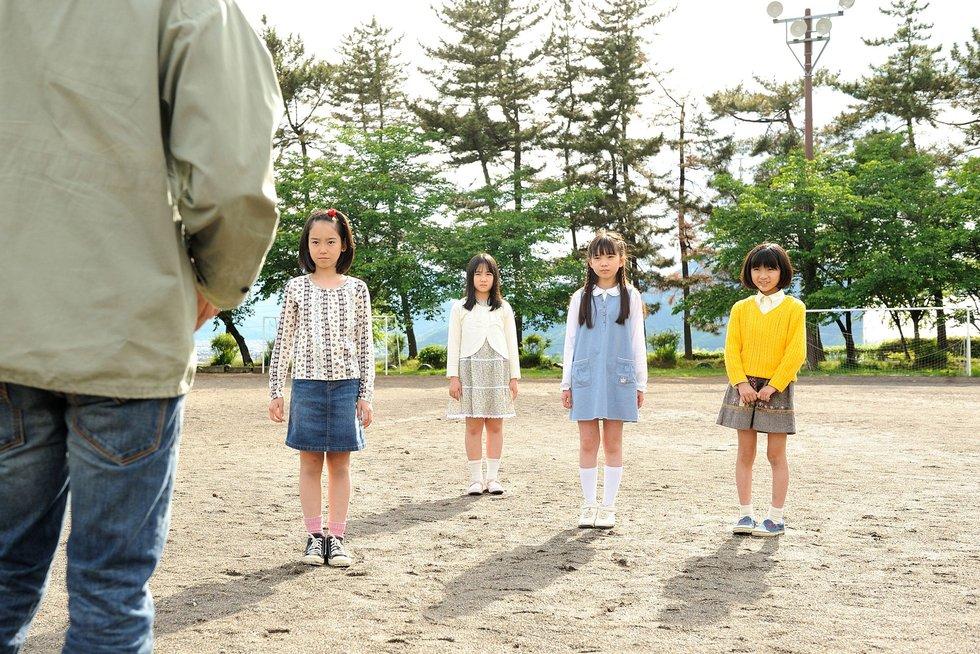 Les fillettes - Photo extraite du film Shokuzaï