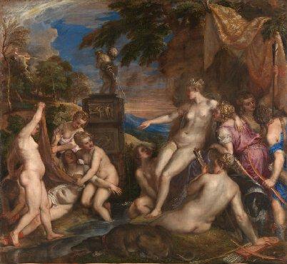 """""""Diane et Callisto"""", Titien, 1556-9"""