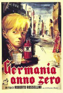 """Affiche du film """"Allemagne, année zéro"""""""