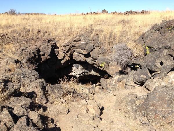 La caverne où Captain Jack avait établi ses pénates