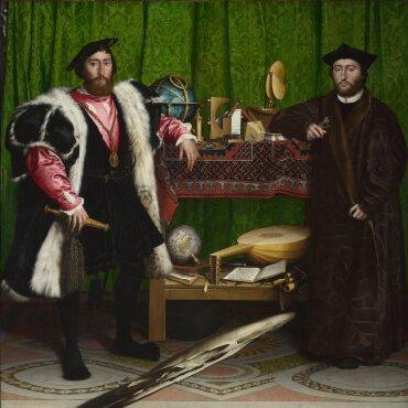 """""""Les Ambassadeurs"""" de Hans Holbein le Jeune, 1533"""