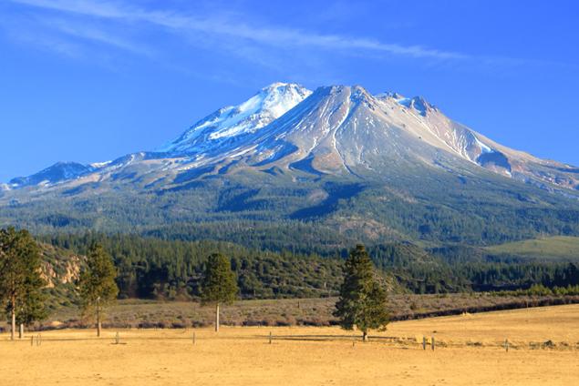 Le Mont Shasta