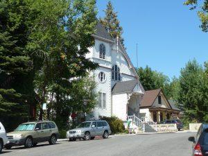 L'église de Nevada City, au sommet de Broad Street - Auteur : Nicolas Glowacki
