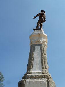 Statue de James Marshall à Coloma - Auteur : Nicolas Glowacki