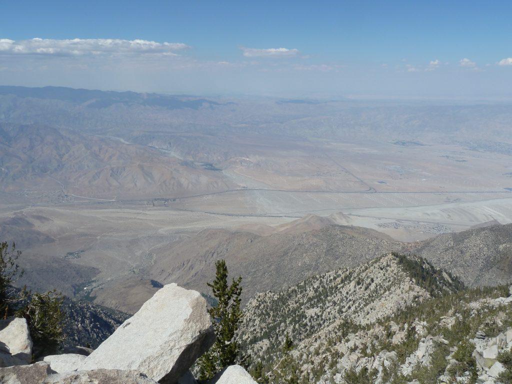 Joshua Tree depuis San Jacinto Peak