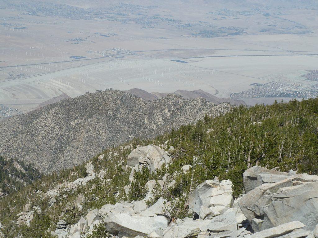 Vue depuis le San Jacinto Peak
