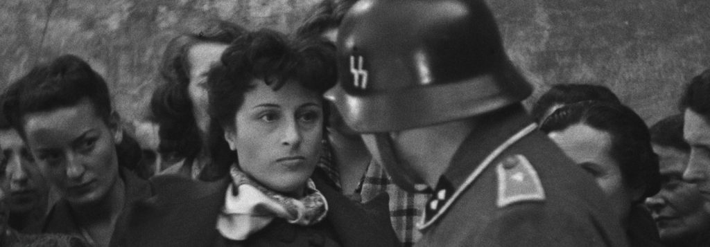 """""""Rome, ville ouverte"""" - Anna Magnani face à un SS"""