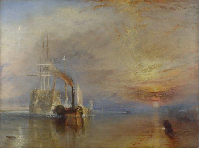 """""""Le Dernier Voyage du Téméraire"""", Joseph Mallord William Turner, 1839"""