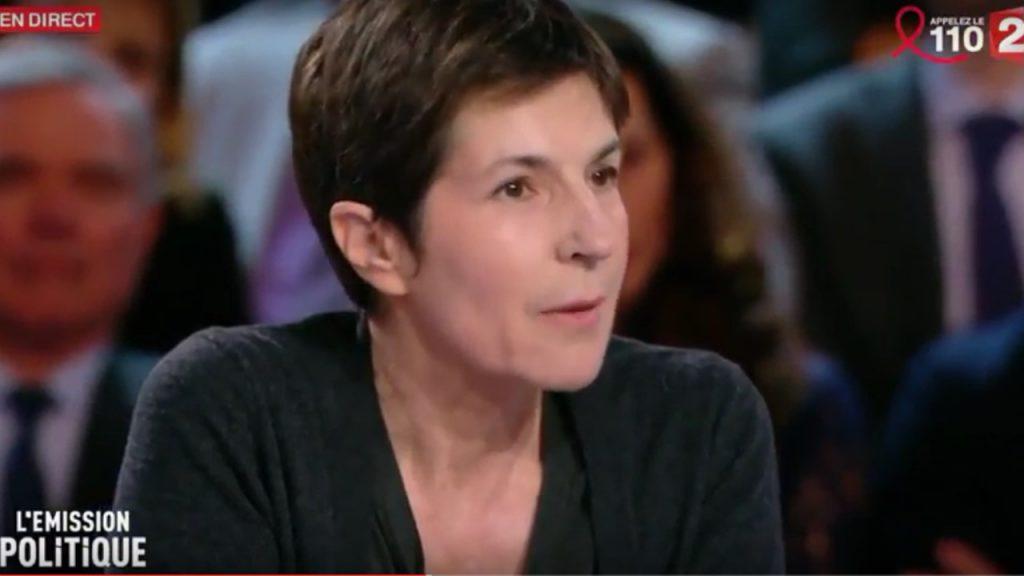 Christine Angot dans « L'émission politique »