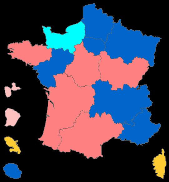 Présidents des conseils régionaux élus suite aux élections régionales de 2015