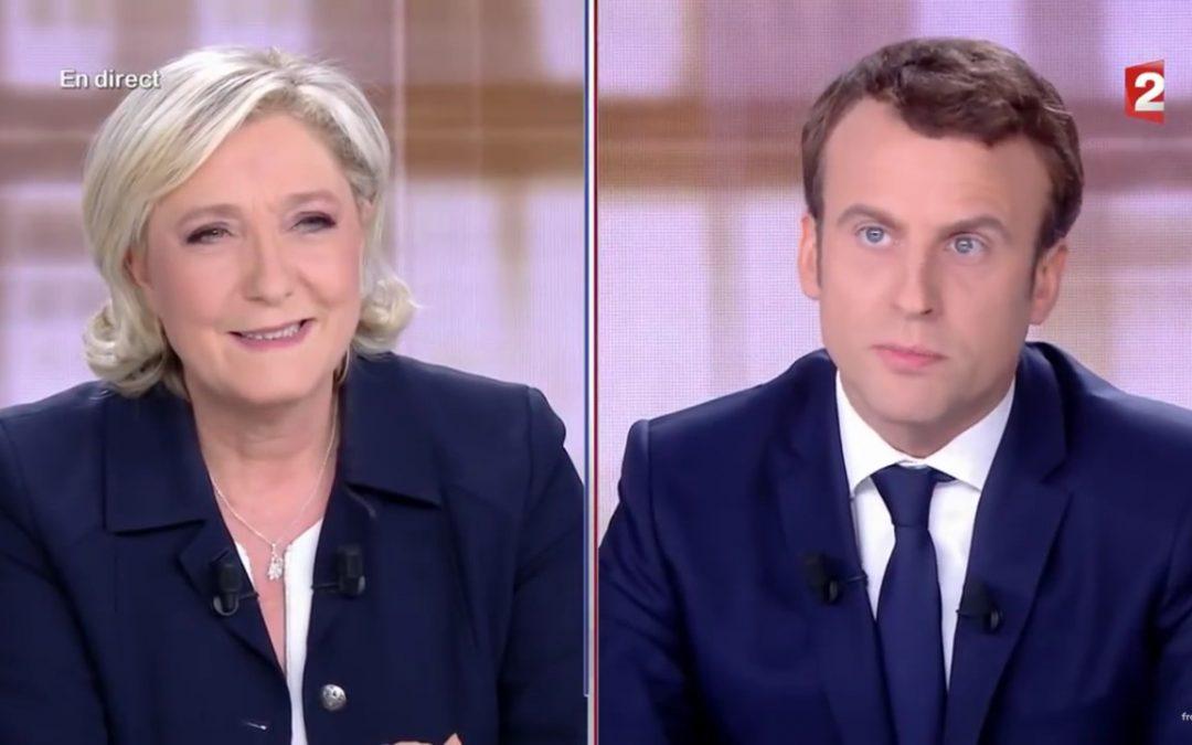 Du 1er au 6 mai – Où Le Pen se saborde avec un débat infect