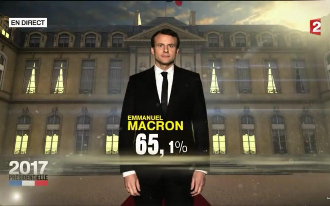 7 mai – Où Macron est élu président